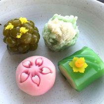 季節の菓子
